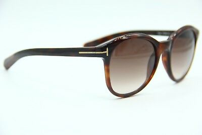 9131868f5f017 New Tom Ford Tf298 52F Riley Brown Authentic Frame Sunglasses 51-19 W case