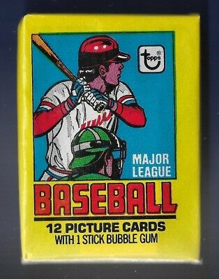 1979  Topps    Wax  Pack    Unopened  And  Unsearched