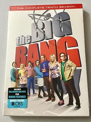 The Big Bang Theory: the Complete Tenth Season  Brand New and Sealed