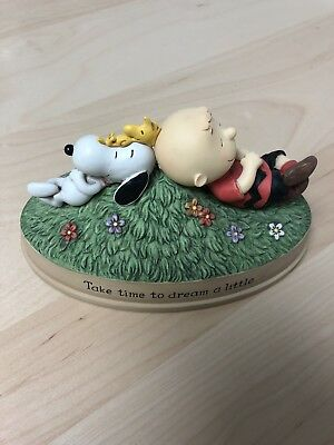"Hallmark 2012 Peanuts Gallery ""Take Time To Dream A Little"" Figurine"