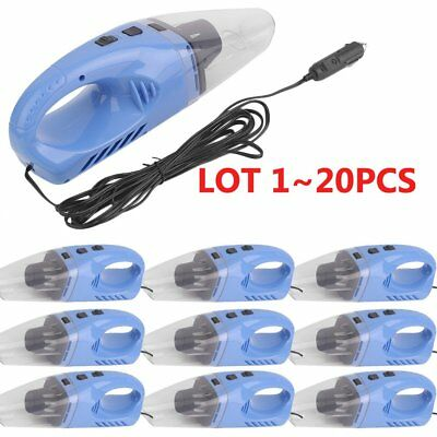 (1-20) pcs 12V Portable Auto Mini Hand Held Wet Dry Dust Car Vacuum Cleaner UR