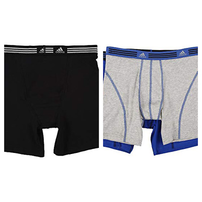 463aa4c1df08 Adidas Climalite Boxer Briefs 2 pack Relaxed Performance 2 styles Holiday  Gift
