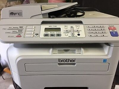 Brother MFC-7340 All-In-One Printer Scanner Fax Copier