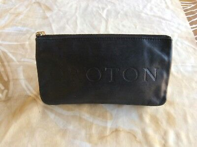 Vintage Oroton Black Leather Wallet/Pouch