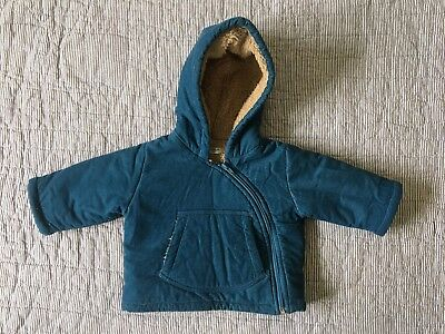 Baby Boden Sherpa-Lined Corduroy Jacket 3-6 Months