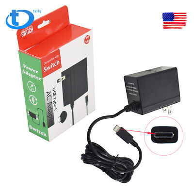 New AC Adapter Power Supply Wall Charger For Nintendo Switch Dock fast shipping
