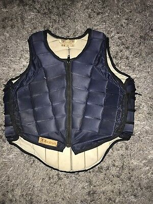 racesafe body protector Childs XL