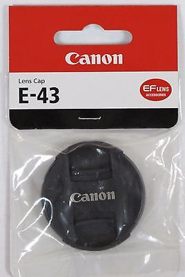 Genuine Canon E-43 43mm Front Lens Cap Genuine UK Stock Canon 43mm lens cap