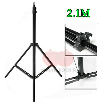 210cm Photography Light Stand Tripod Support For Photo Studio Flash Softbox UK