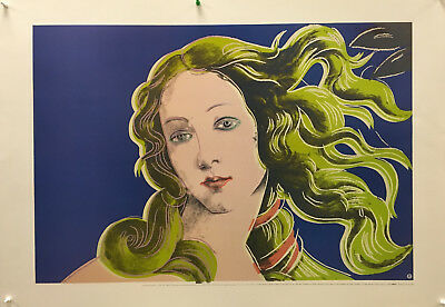Andy Warhol - Birth of Venus (Blue & Green) - 1995 - Offset