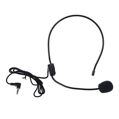 Headset Mic Wearing a Wire Microphone Clip Megaphone For Teaching Lectures