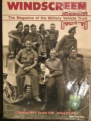 Windscreen - The Magazine of the Military Vehicle Trust Spring 2011 Issue