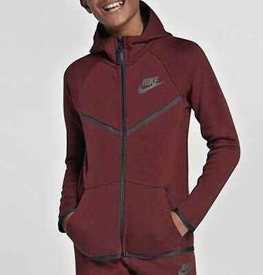 NIKE TECH FLEECE WINDRUNNER Older (BOYS') HOODIE and JOGGERS Size XL(14-15 y.o.)