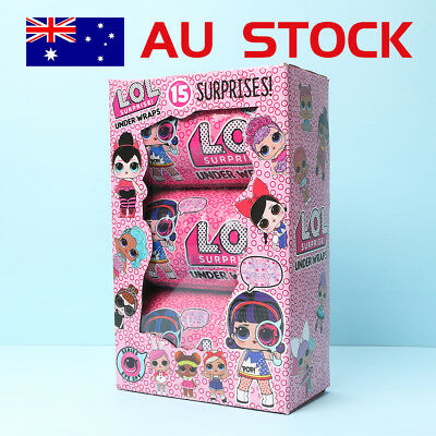 New Lol Surprise Ball Series Doll Under Wraps Baby Girl Kids Play Hot Gift Toy