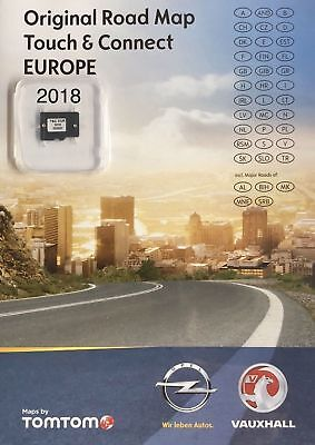 OPEL NAVIGATION Micro SD TOUCH & CONNECT Map EUROPA 2018