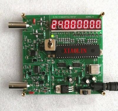 2.4G Digital frequency Counter meter Crystal test frequenzzähler radiofrequenz
