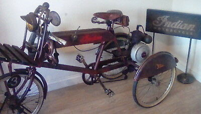 Indian motorcycle/Tribute cargo/scout