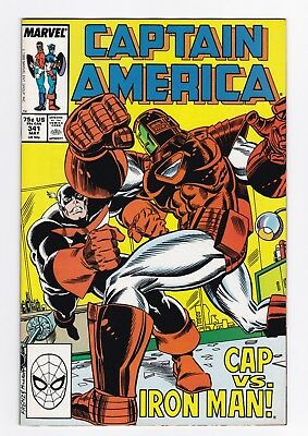 Marvel Comics: Captain America #341/#342/#343/#344/#345 - Five Issues!