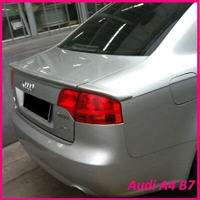AUDI A4 B7 SALOON 4door REAR/BOOT SPOILER (2005-2007)