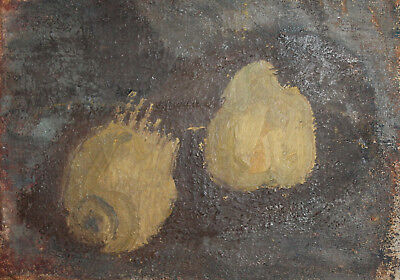 Antique Abstract Still Life Oil Painting