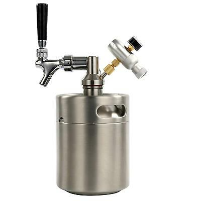 64 Ounce Homebrew Keg System Kit for Home Brew Beer US FREE SHIP