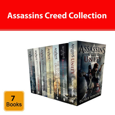 Assassins Creed Collection Oliver Bowden 7 Books Set Young Adults pack NEW