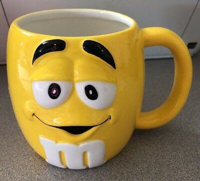 M&M Large Yellow Mug by Galerie 2003
