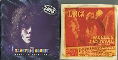 Marc Bolan / T.rex The Electric Boogie' - 5 Cd + Dvd Box Set + Free Weeley 71 Cd