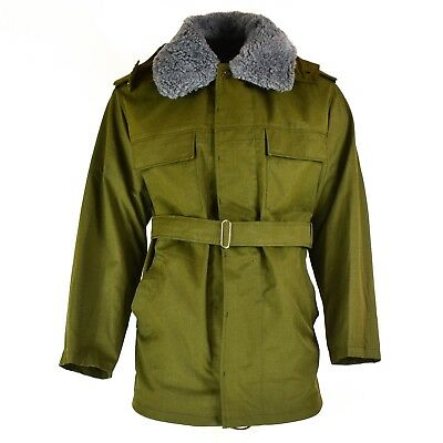 1381634d5303f Original Czech army field parka M85 Army issue hooded winter jacket w  lining NEW