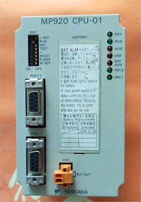 1Pc Yaskawa JEPMC-CP200 Controller MP920 CPU-01 In Condition Used nf