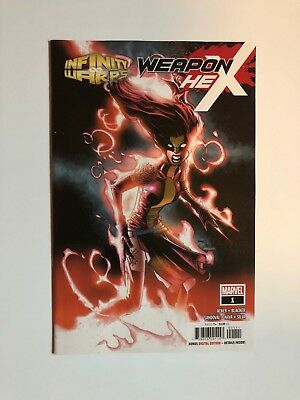 INFINITY WARS WEAPON HEX #1 Marvel Comics X-23 Scarlet Witch NEW NM
