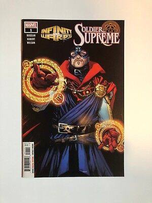INFINITY WARS SOLDIER SUPREME #1 Marvel Comics Dr Strange Captain America NEW NM
