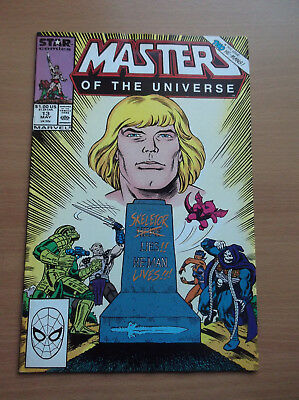 Marvel: Masters Of The Universe #13, Skeletor Dead, Rare Last Issue, 1988, Nm!!!