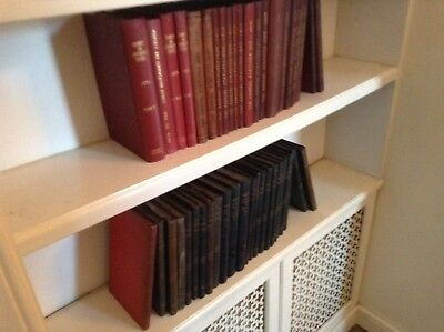 Collection of antique law books