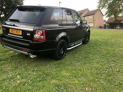 2012 LAND ROVER RANGE ROVER SPORT SDV6 AUTOBIOGRAPHY style 8 SPEED