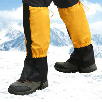 Outdoor Hiking Climbing Ski Gaiters Leg Shoe Covers Waterproof Legging Wrap