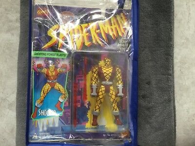 """Spiderman""-Shocker-Toy Biz -MOC mit Protector-Bag"