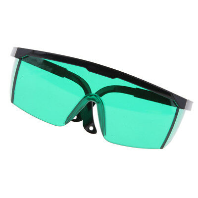 Durable Safety Goggles Eye Protection Blue Light Blocking Glasses Green Lens