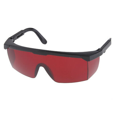 Durable Safety Goggles Eye Protection Blue Light Blocking Glasses Red Lens