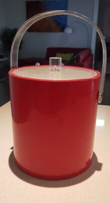 retro ice bucket with lid