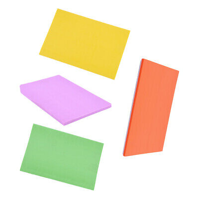 4 Colors Candy Color Rubber Carving Blocks for DIY Stamps Crafts 15x10x0.6cm