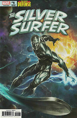 Defenders Silver Surfer #1 Skan Variant 1:25 Marvel Comics Hot Nm