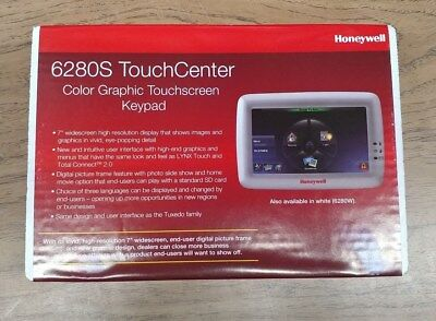 New Honeywell 6280S Silver Color Touchscreen Keypad Free Expidited Shipping