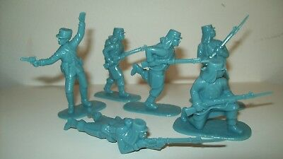 Lot of new Armies in Plastic French Foriegn Legion, Legionaires in light blue