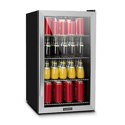 Wine Cooler Drinks Beverage Chiller Bar Shop Home Energy A+ 124l 12 cans steel