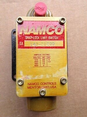 Namco Limit Switch EA140-21200