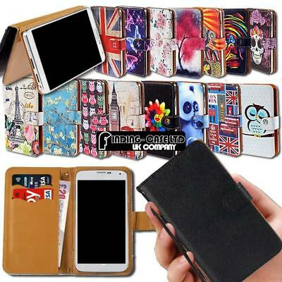 For Various Maze Smartphones Leather Smart Stand Wallet Cover Case