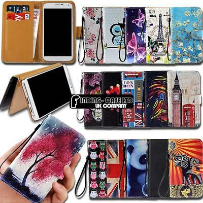 For Various Noa Smartphones Leather Smart Stand Wallet Cover Case