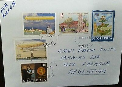 O) 2011 Albania, Nobel Prize Peace  Dr Withhout Borders-First Zeppelin Fight Lz