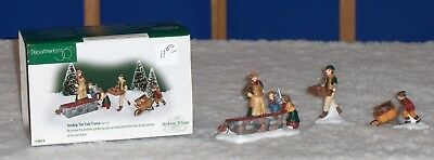 Dept 56 Dickens Heritage Village Tending The Cold Frame Set Of 3 Accessory